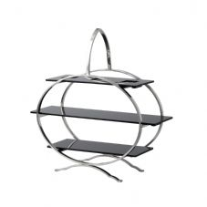 Round 3 Tier Stainless Steel Cake Stand